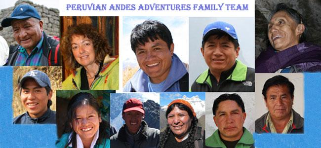 Peruvian-Andes-Adventures-Team