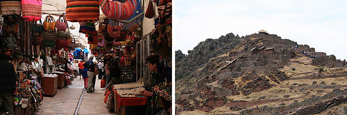 Pisac-Fortress-Colourful-Market
