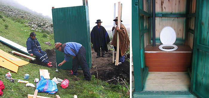 Toilet-Jahua-Community-Projekt