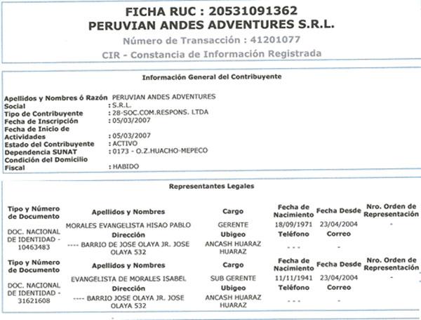 peru-treks-Ficha-Ruc