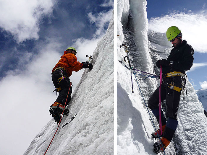 Peru, treks, climbs, hiking, - Climbing-Instruction
