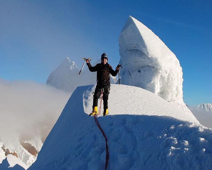 Peru, treks, climbs, hiking, - Yanapaccha-Summit