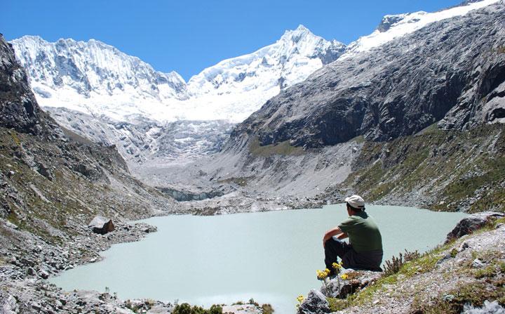 Peru, treks, climbs, hiking, - cordillera-blanca-day-hike-Llaca-valley
