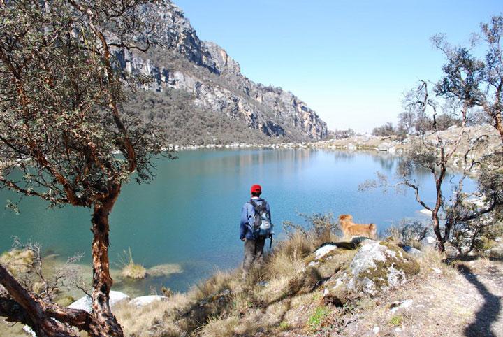 Peru, treks, climbs, hiking, - huaraz-day-hike-to-Laguna-urus-lake