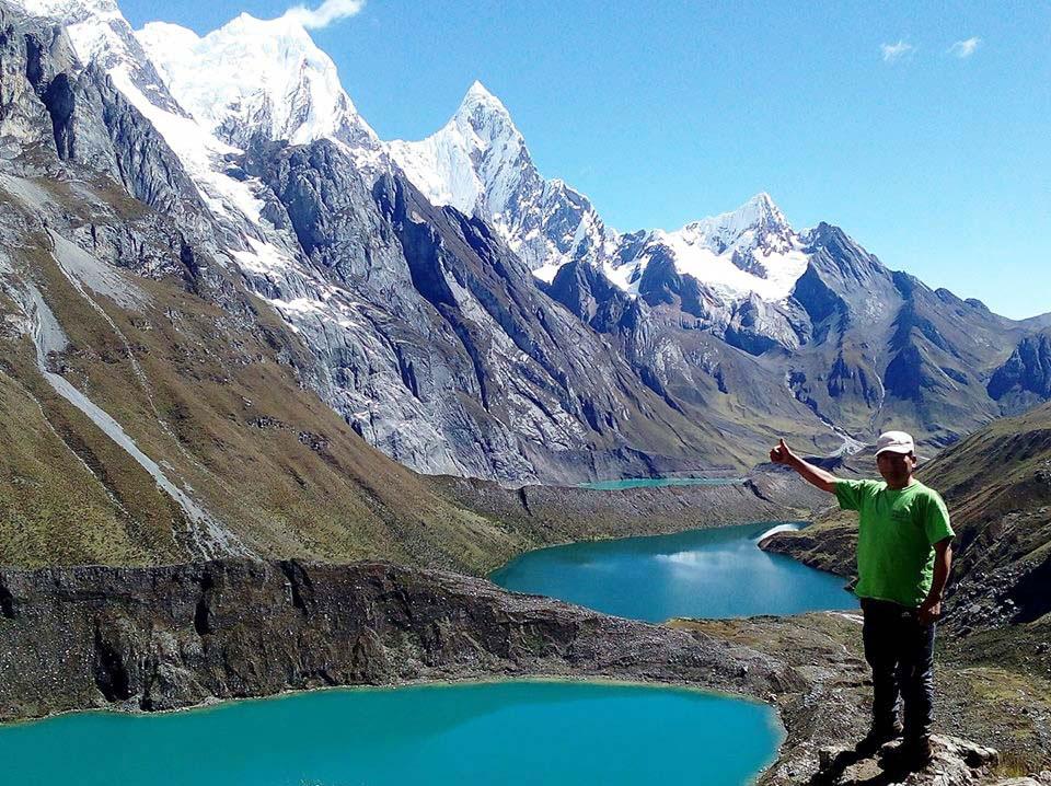 Peru, treks, climbs, hiking, - huayhuash-trek-siula-lakes