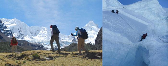 trek-to-quillqueyhuanca-climb-ishinca-tocllaraju