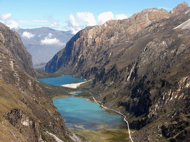 llanganuco-lakes