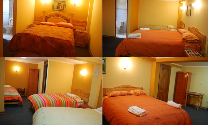 Peru, treks, climbs, hiking, - morales-guesthouse-beds
