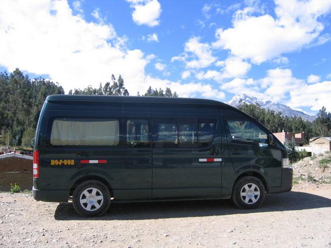 Peru, treks, climbs, hiking, - tour-transport-Minivan