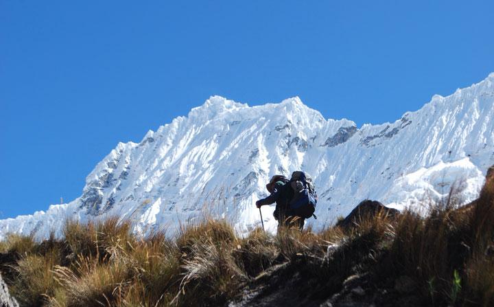 Peru, treks, climbs, hiking, - santa-cruz-trek-on-Punta-Union-pass