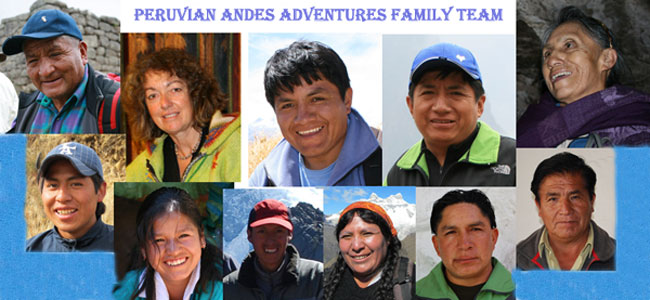 Peruvian-Andes-Adventures-Team