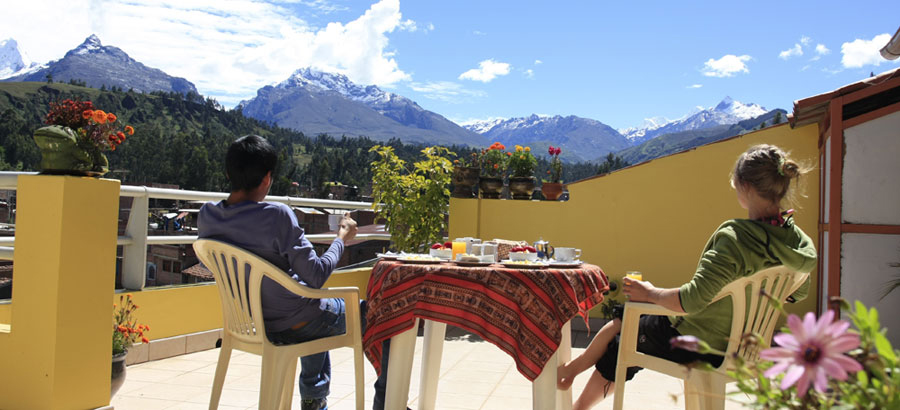 Peru, treks, climbs, hiking, - breakfast-with-a-view