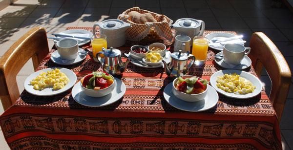 Peru, treks, climbs, hiking, - breakfastt-morales-guesthouse