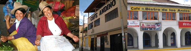 Peru, treks, climbs, hiking, - locals-huaraz-cafes