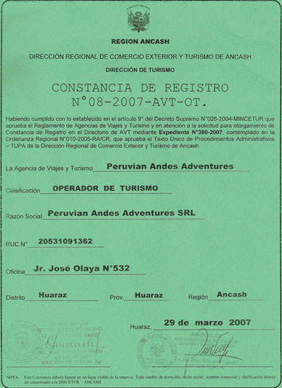 peruvian-andes--trek-acreditation