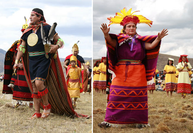 Huayhuash-trek-inca-festival