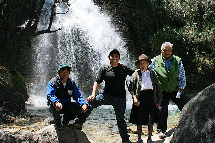 Peru, treks, climbs, hiking, - Joncopampa-Waterfall