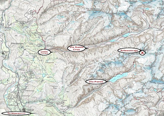 Map-Artesonraju