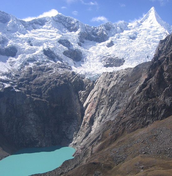 Peru, treks, climbs, hiking, - Peru-alpamayo-Base-Camp