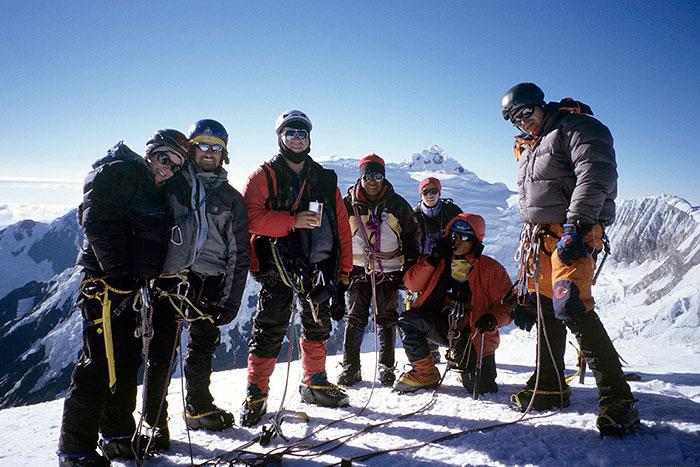 Peru, treks, climbs, hiking, - Tocllaraju-Summit