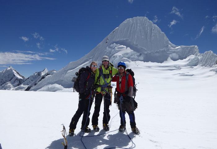 Peru, treks, climbs, hiking, - alpamayo-high-camp2