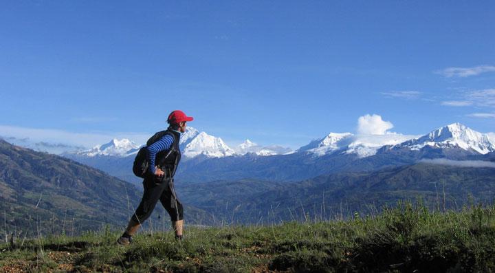 Peru, treks, climbs, hiking, - cordillera-blanca-day-hike-Huaraz-Hills