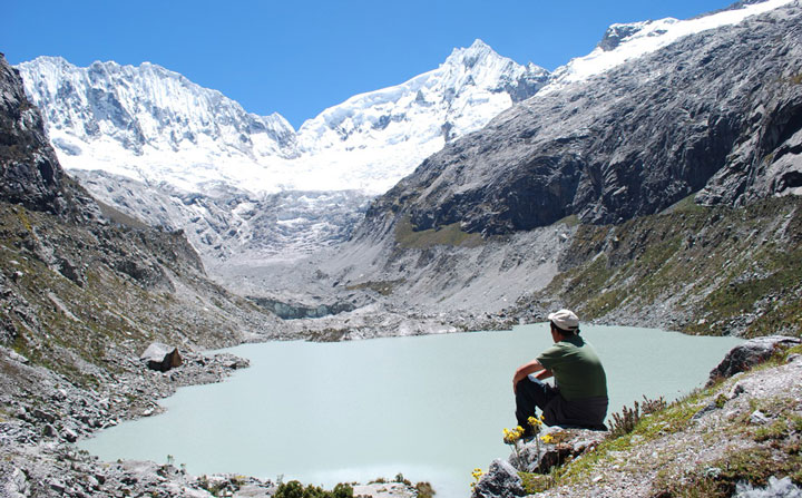 Peru, treks, climbs, hiking, - cordillera-blanca-day-hike-Llaca-valley