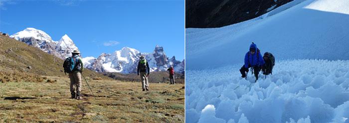 Peru, treks, climbs, hiking, - cordillera-huayhuash-climb-diablomudo