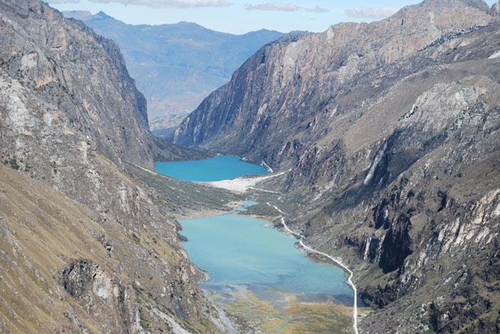 Peru, treks, climbs, hiking, - day-hike-llanganuco-lakes