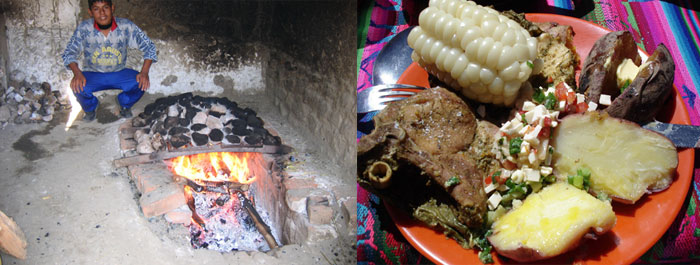 huaraz-local-pachamanca-traditional-meals