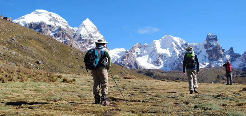 Peru, treks, climbs, hiking, - huayhuash-circuit-trek