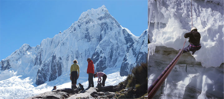 Peru, treks, climbs, hiking, - santa-cruz-trek-climb-ishinca-valley