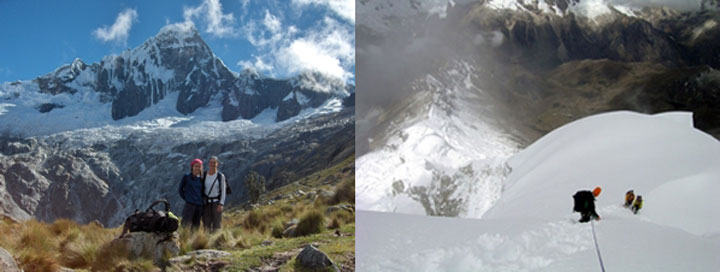 Peru, treks, climbs, hiking, - santa-cruz-trek-climbing-chopicalqui