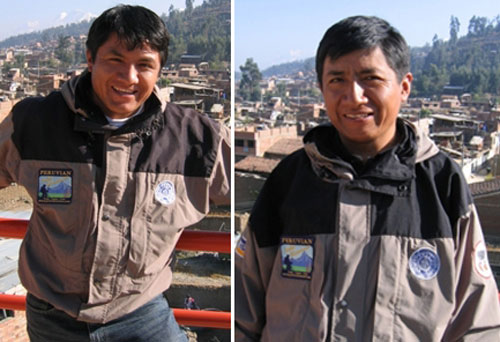 Peru, treks, climbs, hiking, - peruvian-mounatin-guides-hisao-and-eli-morales