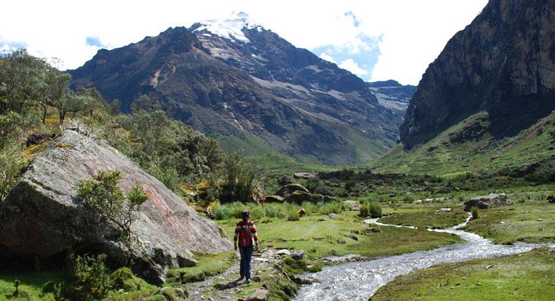 Peru, treks, climbs, hiking, - quillqueyhuanca-trek