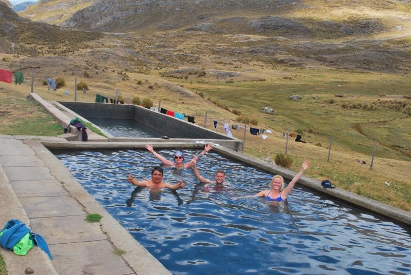Peru, treks, climbs, hiking, - Viconga pools