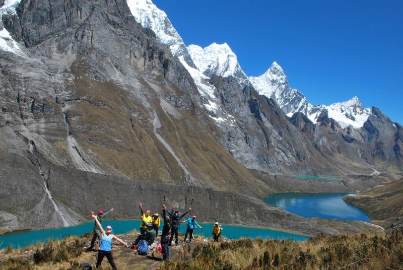 Peru, treks, climbs, hiking, - siula lakes 3 Small