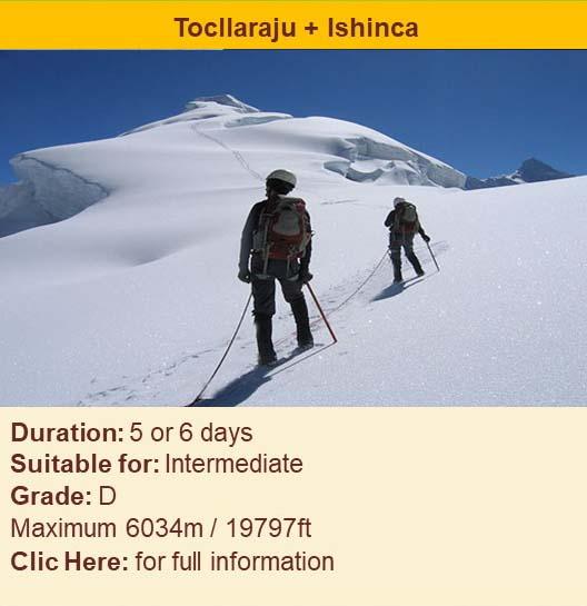 Peru Treks & Climbs: Cordillera Blanca and Cordillera