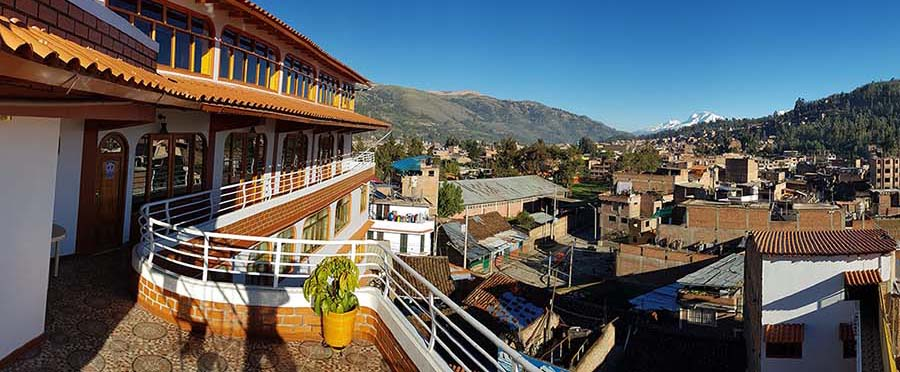 Peru, treks, climbs, hiking, - hotel-morales-terrace