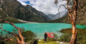llanganuco lakes
